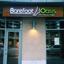 Barefoot Oasis Foot Massage and Spa Vancouver Keefer Place Storefront