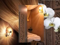 A massage room at Barefoot Oasis