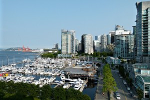 Vancouver Coal Harbor Walking Path